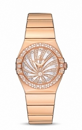 Omega Constellation Luxury Edition  Women's Watch 123.55.27.60.55.013