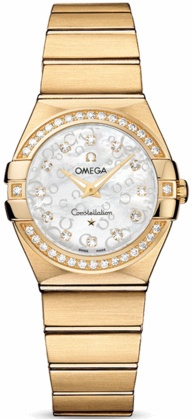 Omega Constellation Brushed Quartz 27mm  Women's Watch 123.55.27.60.55.016