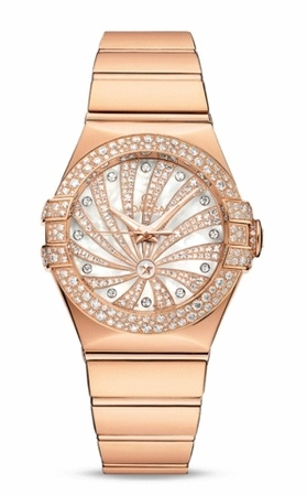 Omega Constellation Luxury Edition  Women's Watch 123.55.31.20.55.010