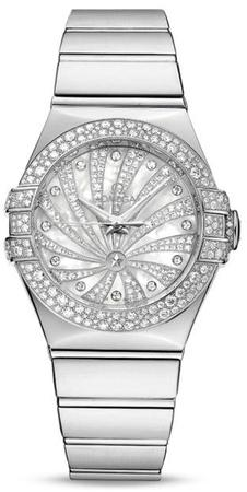 Omega Constellation Luxury Edition  Women's Watch 123.55.31.20.55.011
