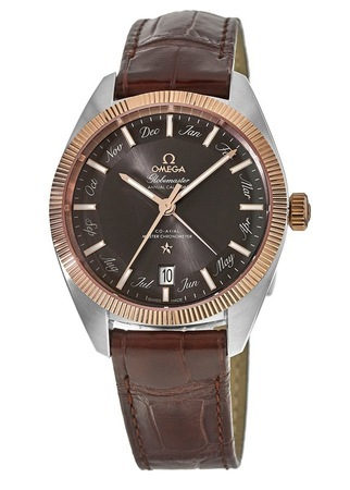 Omega Constellation Globemaster Co-Axial Master Chronometer Annual Calendar Steel & Gold Men's Watch 130.23.41.22.06.001