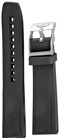 Breitling Rubber 20-18mm  Men's Strap 132S