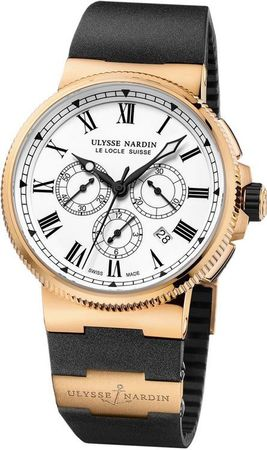 Ulysse Nardin Marine Chronograph Manufacture 43mm  Men's Watch 1506-150-3/LE