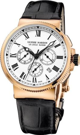 Ulysse Nardin Marine Chronograph Manufacture 43mm  Men's Watch 1506-150/LE