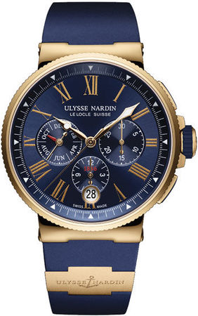 Ulysse Nardin Marine Chronograph  Men's Watch 1532-150-3/43
