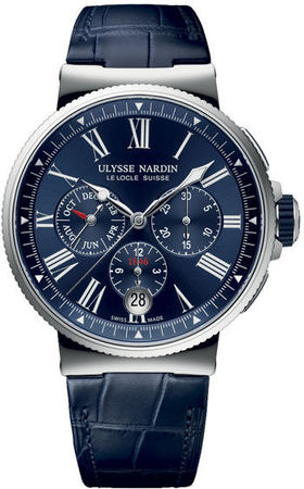 Ulysse Nardin Marine Chronograph  Men's Watch 1533-150/43