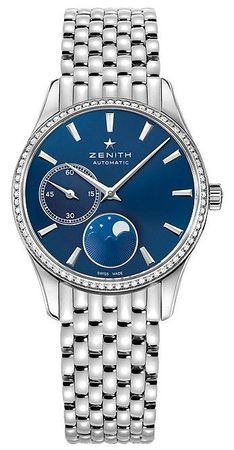 Zenith Captain Ultra Thin Moonphase  Women's Watch 16.2310.692/51.M2310
