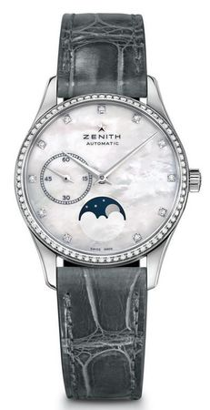 Zenith Heritage Lady Ultra Thin Moon Phase Mother of Pearl Dial Women's Watch 16.2310.692/81.C706