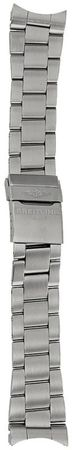 Breitling Steel 22-20mm Professional III Brushed Men's Bracelet 162A