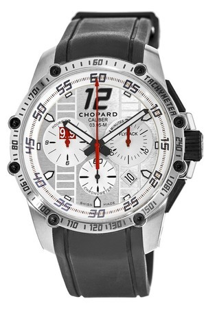 Chopard Superfast Chrono  Porsche 919 Limited Edition Steel Men's Watch 168535-3002
