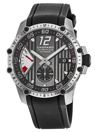 Chopard Classic Racing Superfast Power Control Leather Strap Men's Watch 168537-3001