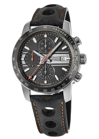 Chopard Grand Prix de Monaco Historique Chronograph Special Edition Titanium Men's Watch 168992-3032