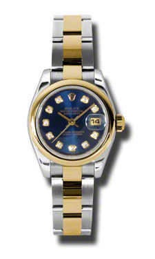 Rolex Datejust 26   Women's Watch 178243-BLDO