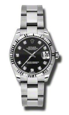 Rolex Datejust 31   Women's Watch 178274-BKDO