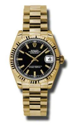 Rolex Datejust 31   Women's Watch 178278-BKI