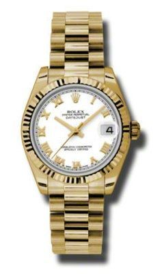Rolex Datejust 31   Women's Watch 178278-WHR