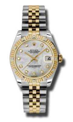 Rolex Datejust 31   Women's Watch 178313-MPDJ