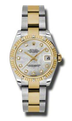 Rolex Datejust 31   Women's Watch 178313-MPDO