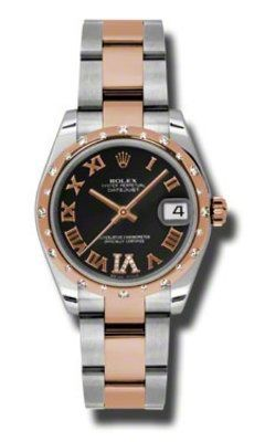 Rolex Datejust 31   Women's Watch 178341-BKRO