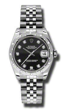 Rolex Datejust 31   Women's Watch 178344-BKDJ