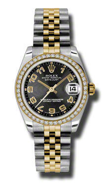 Rolex Datejust 31   Women's Watch 178383-BKAJ