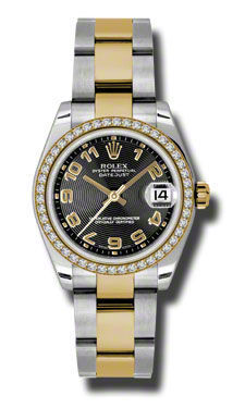 Rolex Datejust 31   Women's Watch 178383-BKCAO