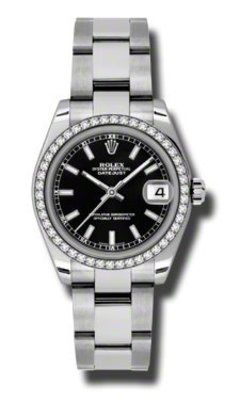 Rolex Datejust 31   Women's Watch 178384-BKIO