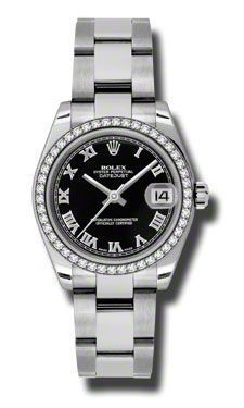Rolex Datejust 31   Women's Watch 178384-BKRO