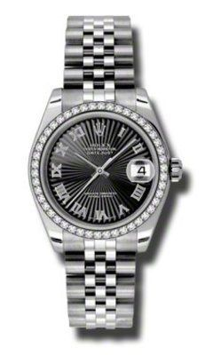 Rolex Datejust 31   Women's Watch 178384-BKSBRJ