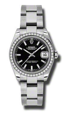 Rolex Datejust 31   Women's Watch 178384-BKSO