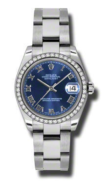 Rolex Datejust 31   Women's Watch 178384-BLRO