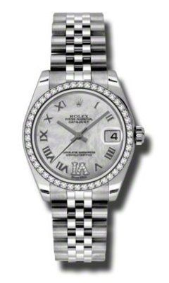 Rolex Datejust 31   Women's Watch 178384-MPRD6J