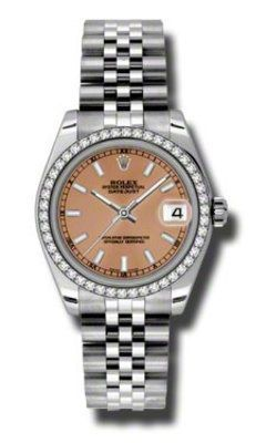Rolex Datejust 31   Women's Watch 178384-PKIJ