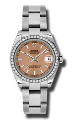 Rolex Datejust 31   Women's Watch 178384-PKIO