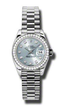 Rolex Datejust 26   Women's Watch 179136-IBLDP