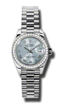 Rolex Datejust 26   Women's Watch 179136-IBLRP