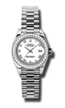 Rolex Datejust 26   Women's Watch 179136-WHRP