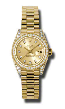 Rolex Datejust 26   Women's Watch 179158-CHDP