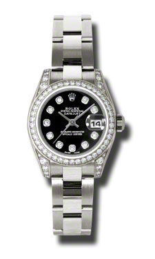 Rolex Datejust 26   Women's Watch 179159-BKDO