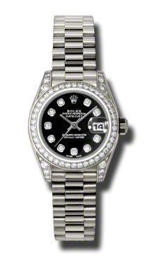 Rolex Datejust 26   Women's Watch 179159-BKDPR