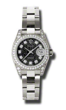 Rolex Datejust 26   Women's Watch 179159-BKJDO