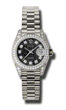 Rolex Datejust 26   Women's Watch 179159-BKJDPR