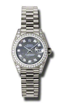 Rolex Datejust 26   Women's Watch 179159-BKMOPDPR