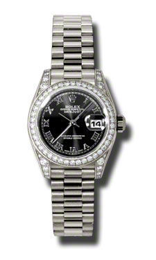 Rolex Datejust 26   Women's Watch 179159-BKRPR