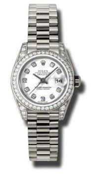 Rolex Datejust 26   Women's Watch 179159-WHDP
