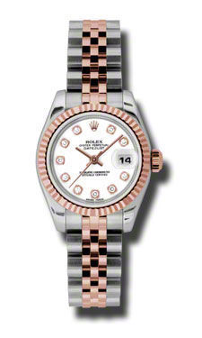 Rolex Datejust 26   Women's Watch 179171-WHDJ