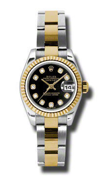 Rolex Datejust 26   Women's Watch 179173-BKDO