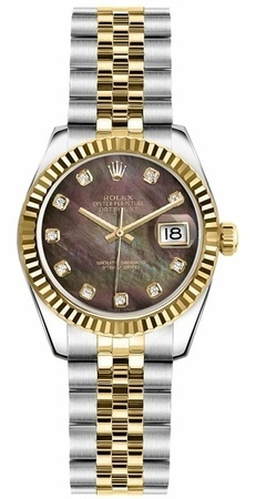 Rolex Datejust 26   Women's Watch 179173-BKMOPDJ