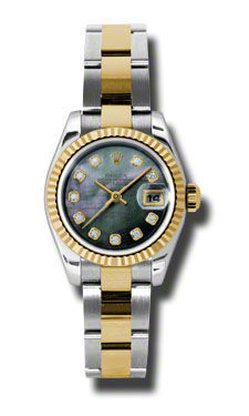 Rolex Datejust 26   Women's Watch 179173-BKMOPDO