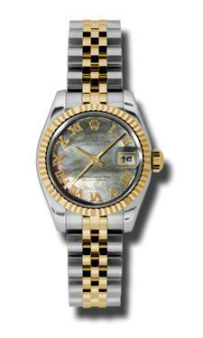 Rolex Datejust 26   Women's Watch 179173-BKMOPRJ